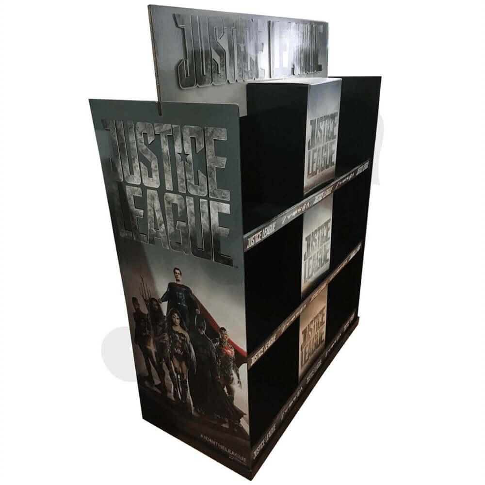 Large Custom CD DVD Display Rack Sideview Two