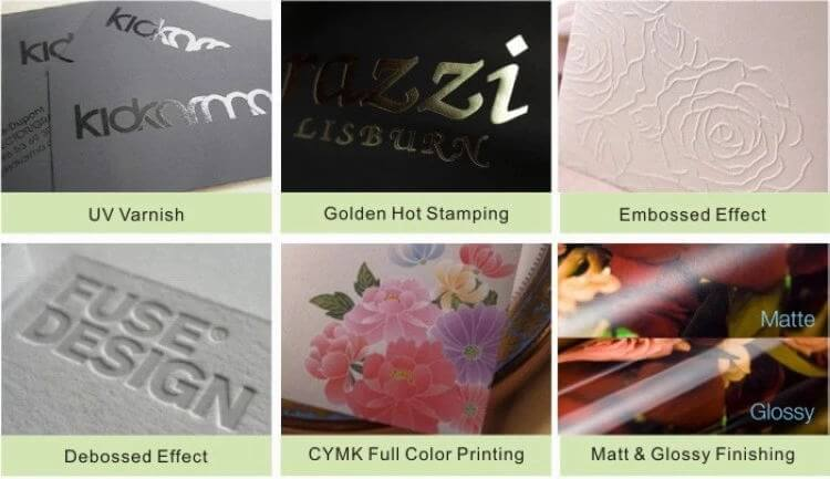 Print Finishing Options