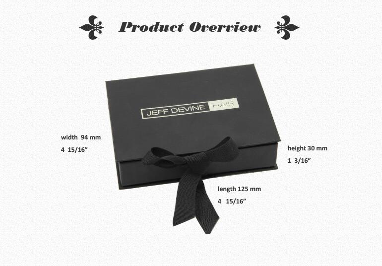 Ribbon Closure Rigid Box For Credit Card