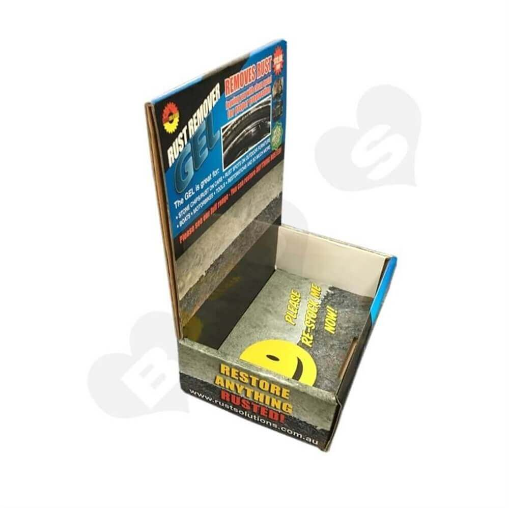 Rust Removal Gel Counter Display Sideview Five