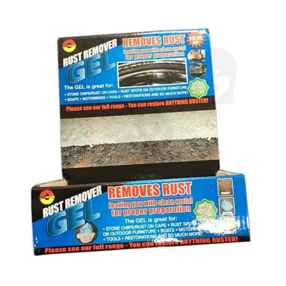 Rust Removal Gel Counter Display Sideview Four
