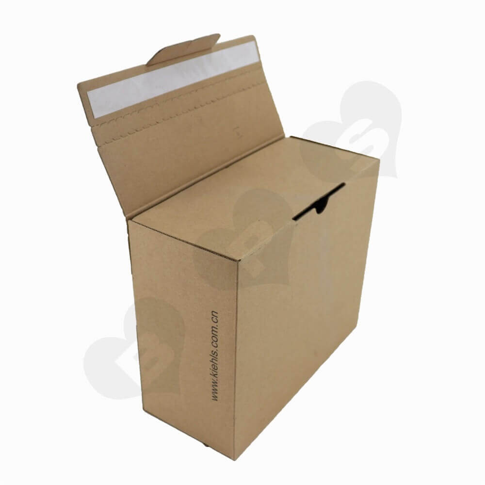 Secure Sealing Shipping Box For Cosmetics Side View Four