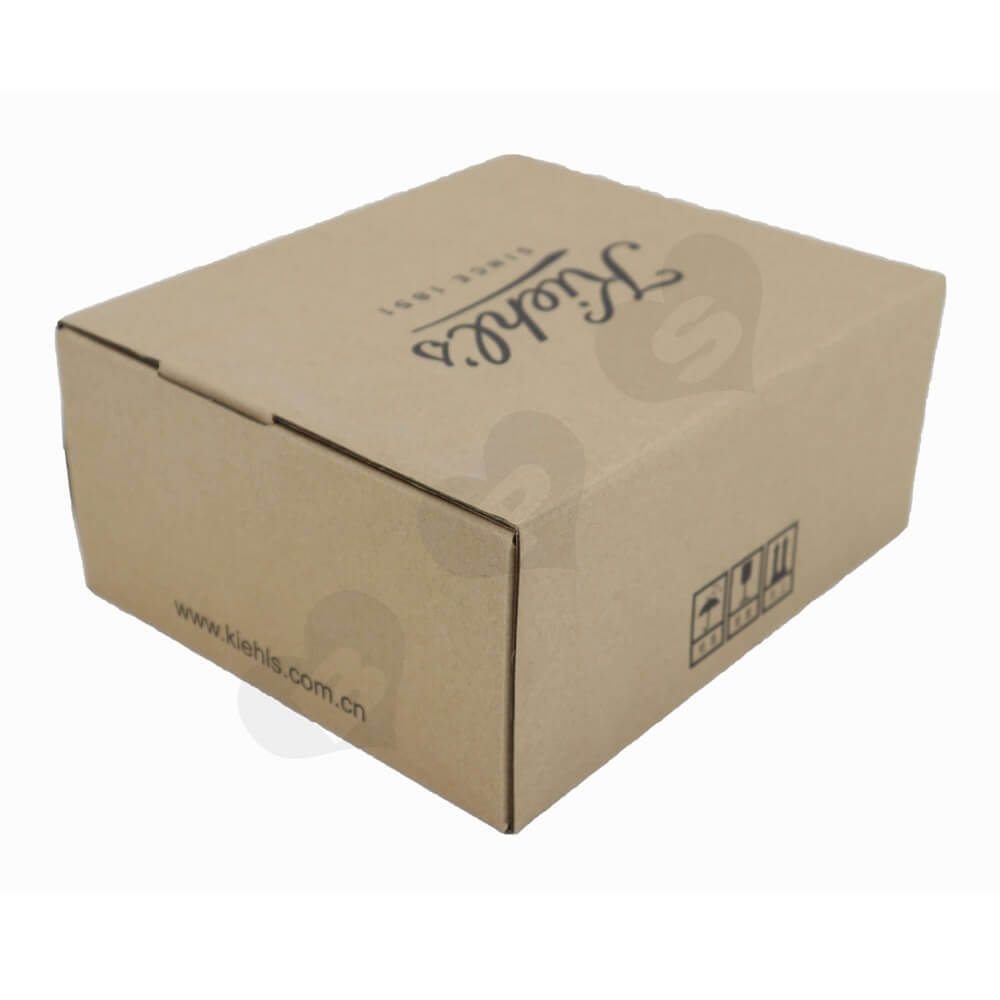 Secure Sealing Shipping Box For Cosmetics Side View One