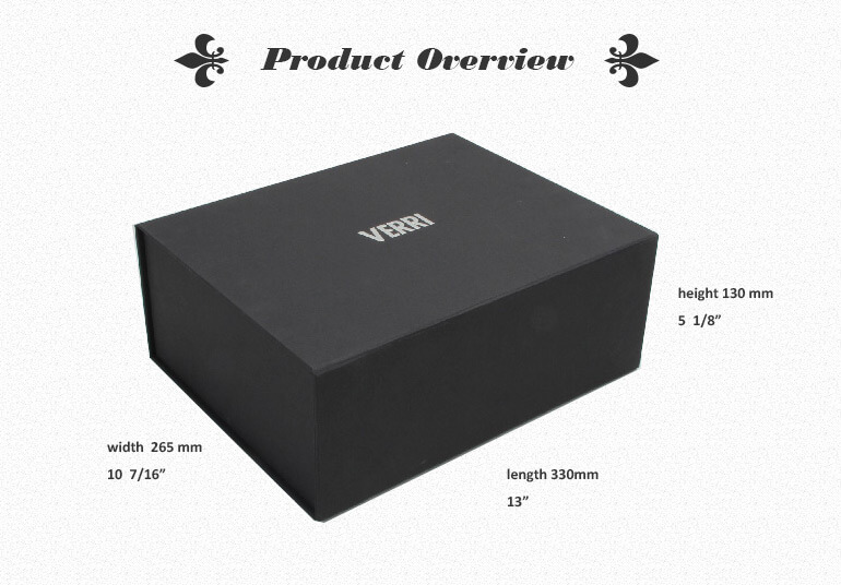 Thick Gift Box With Special Texture On Top