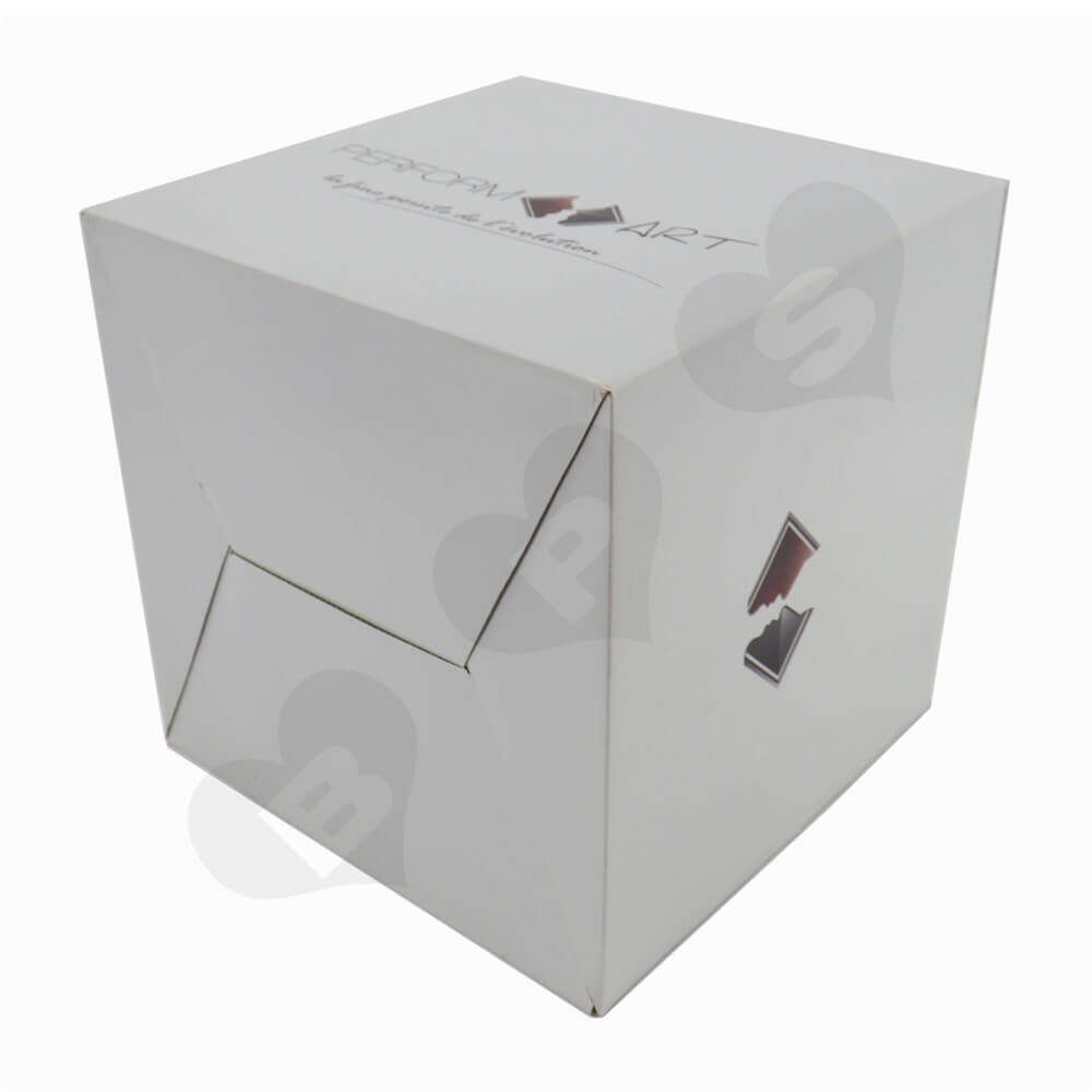 Transdermal Cosmetic Device Shipping Carton Side View Four