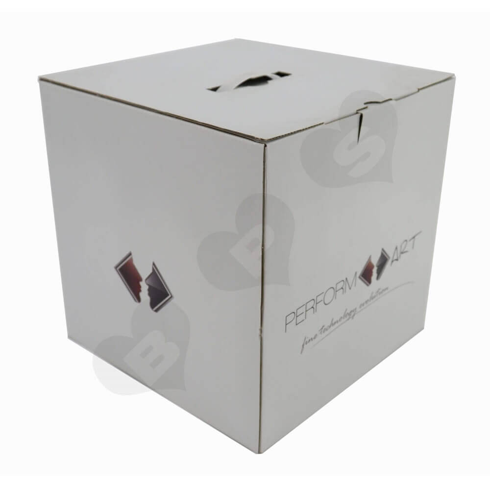 Transdermal Cosmetic Device Shipping Carton Side View One