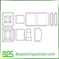 box insert template new