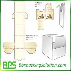cardboard box design template