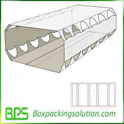 cardboard egg holder design template