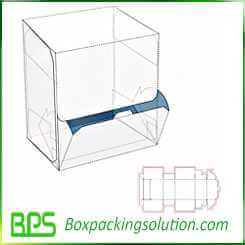 cardboard feeding box design template