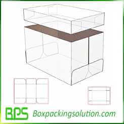 cardboard file storage box design template
