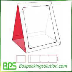 cardboard photo frame design template