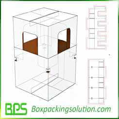 corrugated pet house design templates