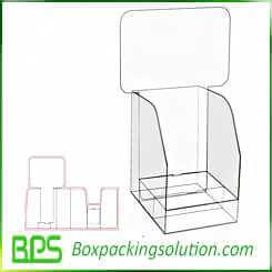 custom PDQ stand boxes retail sales packaging boxes design