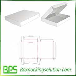 custom cardboard foldable box template