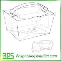 custom food container take away boxes design