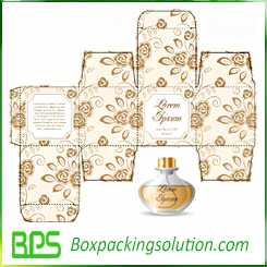 custom perfume packaging box design