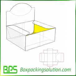 custom shelf ready packaging boxes corrugated display boxes design layout