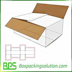 custom shipping cartons master cartons design template
