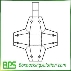 decorative packaging template