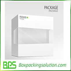 electronic packaging box design template