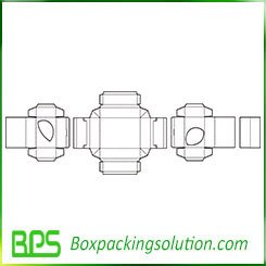 folding box old template