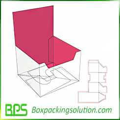 high quality cardboard display box design