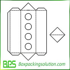 holding insert packaging template