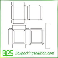 packaging carton template