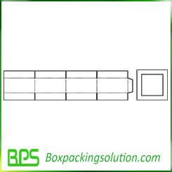regular slotted carton shipping box templates
