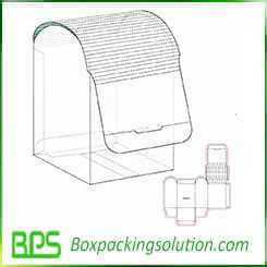 special packaging box design template