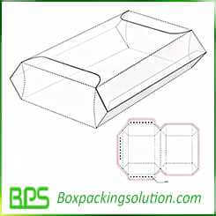 take away food container design template