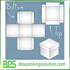 top and bottom box template