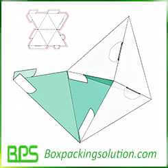 triangle shape packaging box design