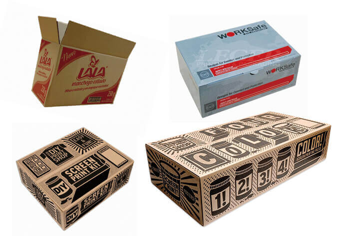 Various Printing Method for Custom Shipping Cartons