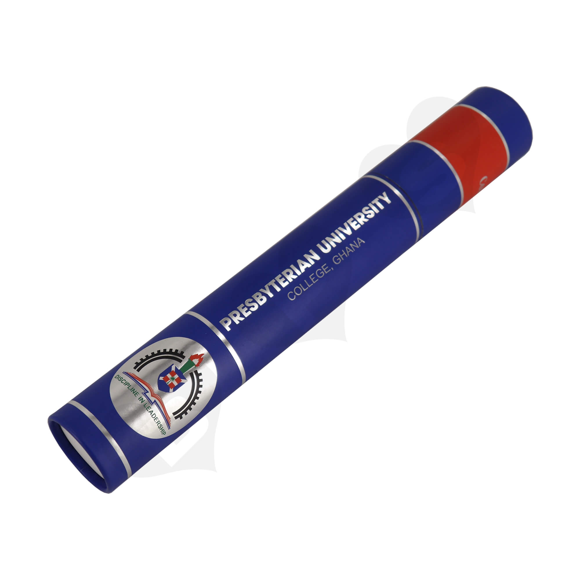 Big Size Cardboard Tube For Packing University Congratulations Gifts Side View Two