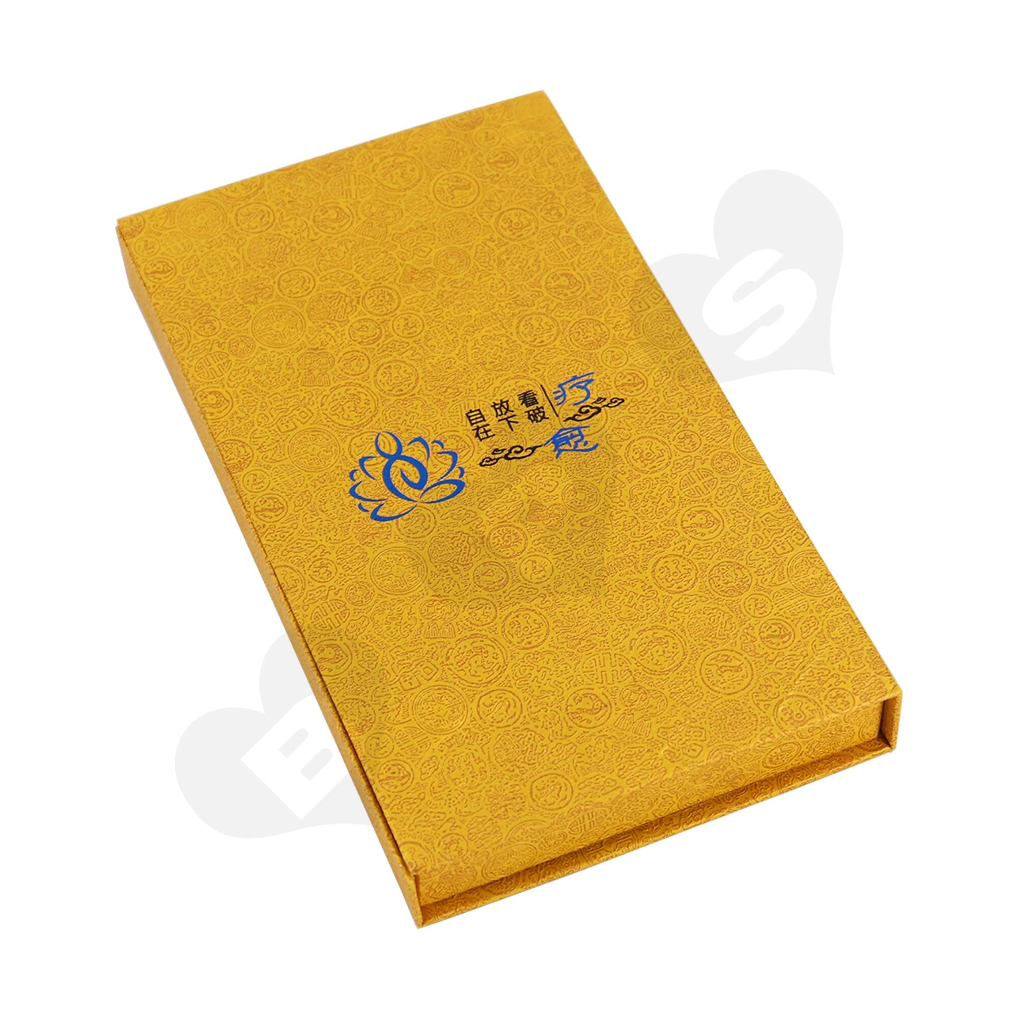 Book Shape Gift Box For Packing Blended Fragrance Side View Four