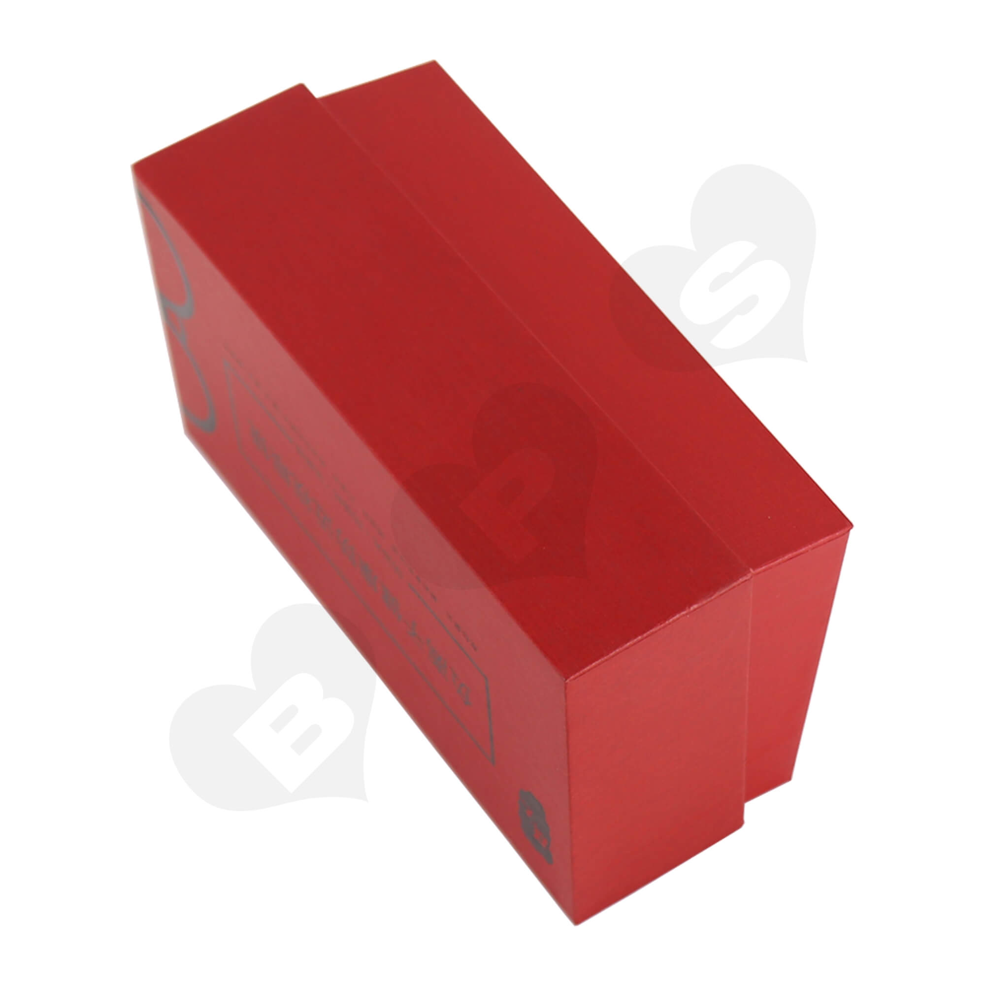 Cardboard Foil Stamping Rigid Set-Up Box For Packing Anti-Myopia Glasses Side View Five
