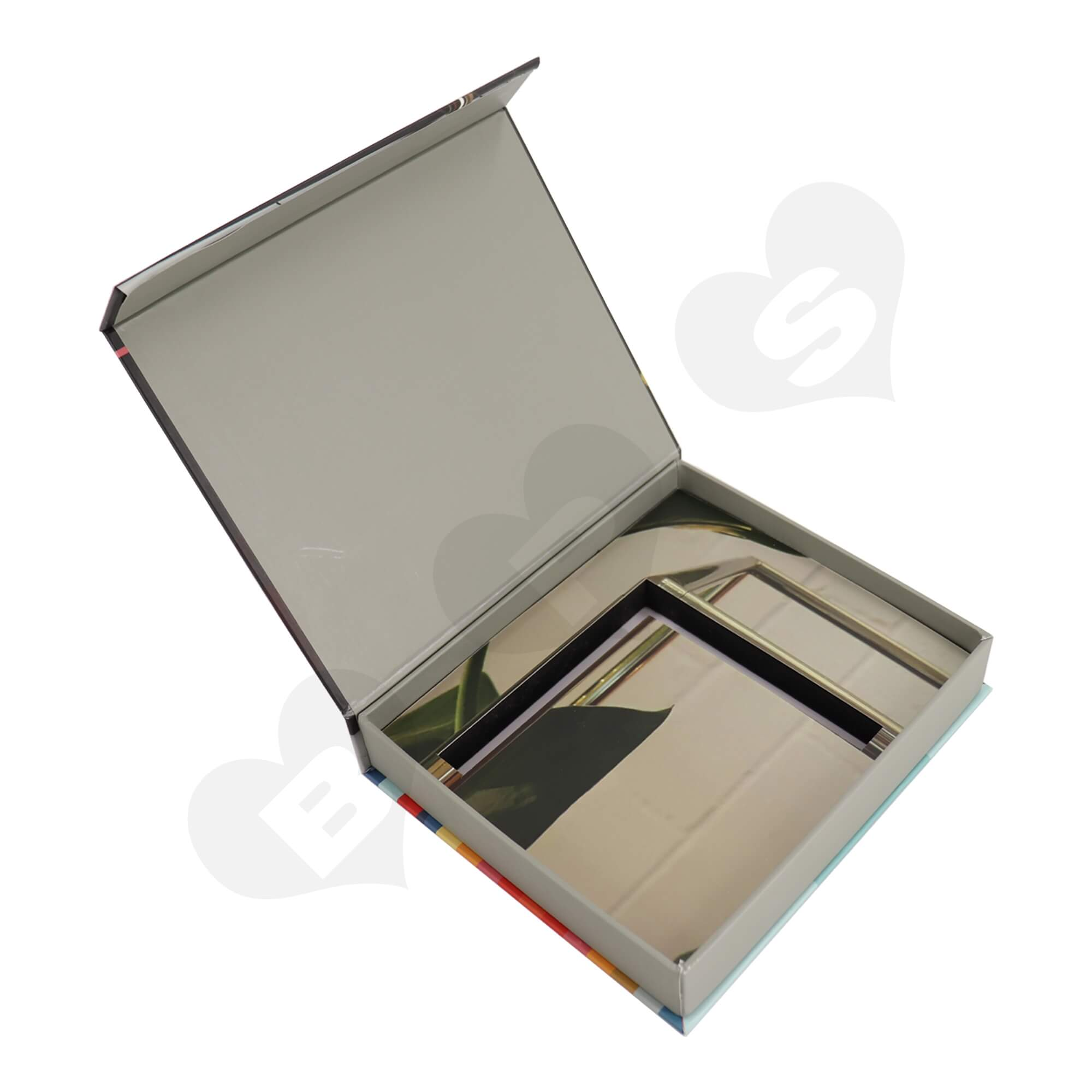 Custom Cardboard Box For Packing Furniture Accessories Side View Two