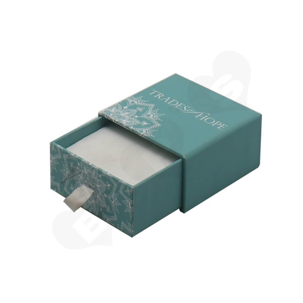 Custom Cardboard Drawer Box For Christmas Gifts Side View Three