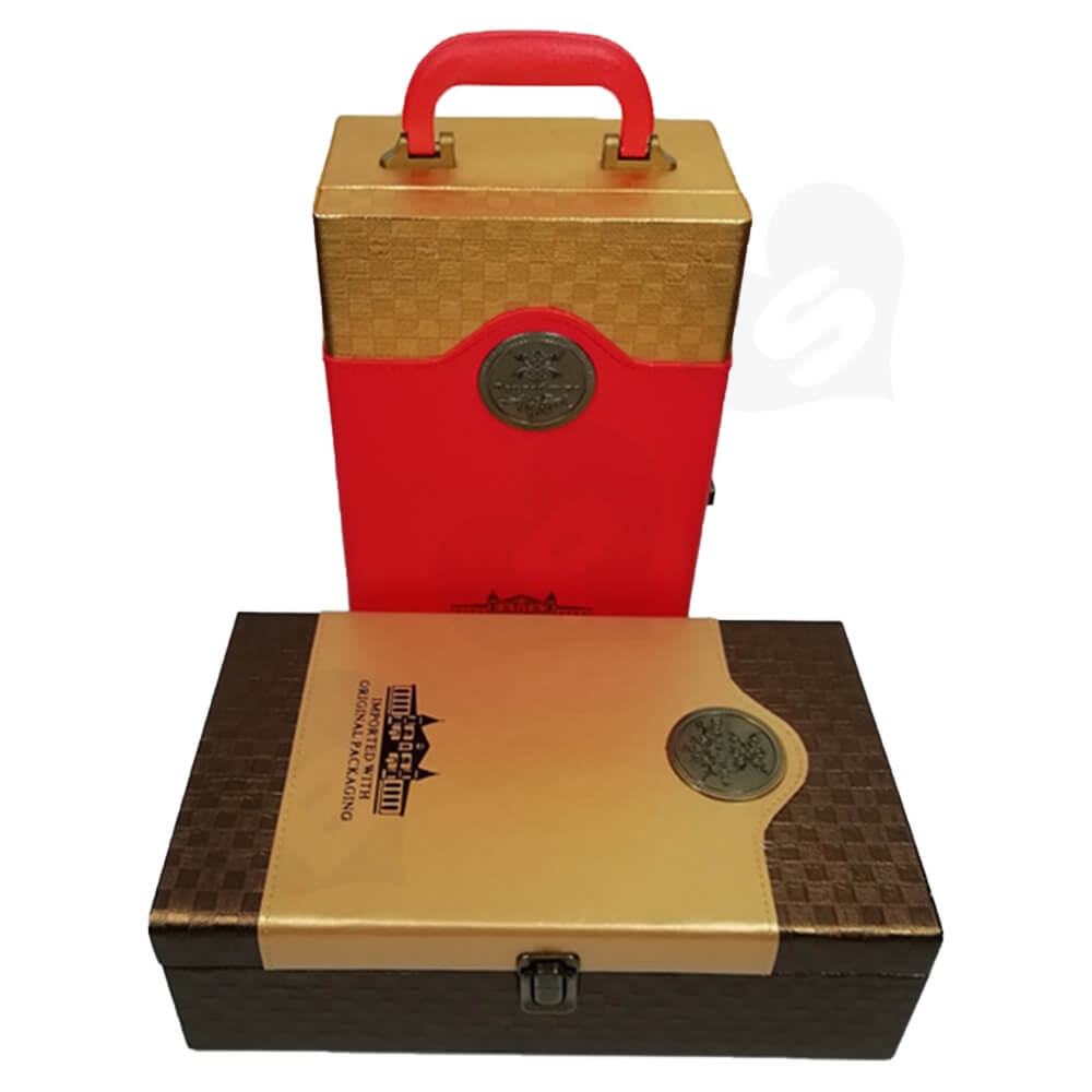 Private Label Wine Box Kit Side View One