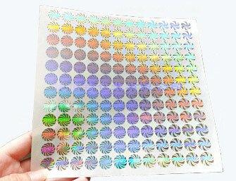 laser stickers